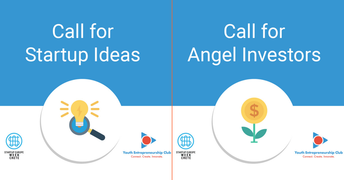 Call for Startup Ideas and Angel Investors_ Startup Europe Week Crete 2018