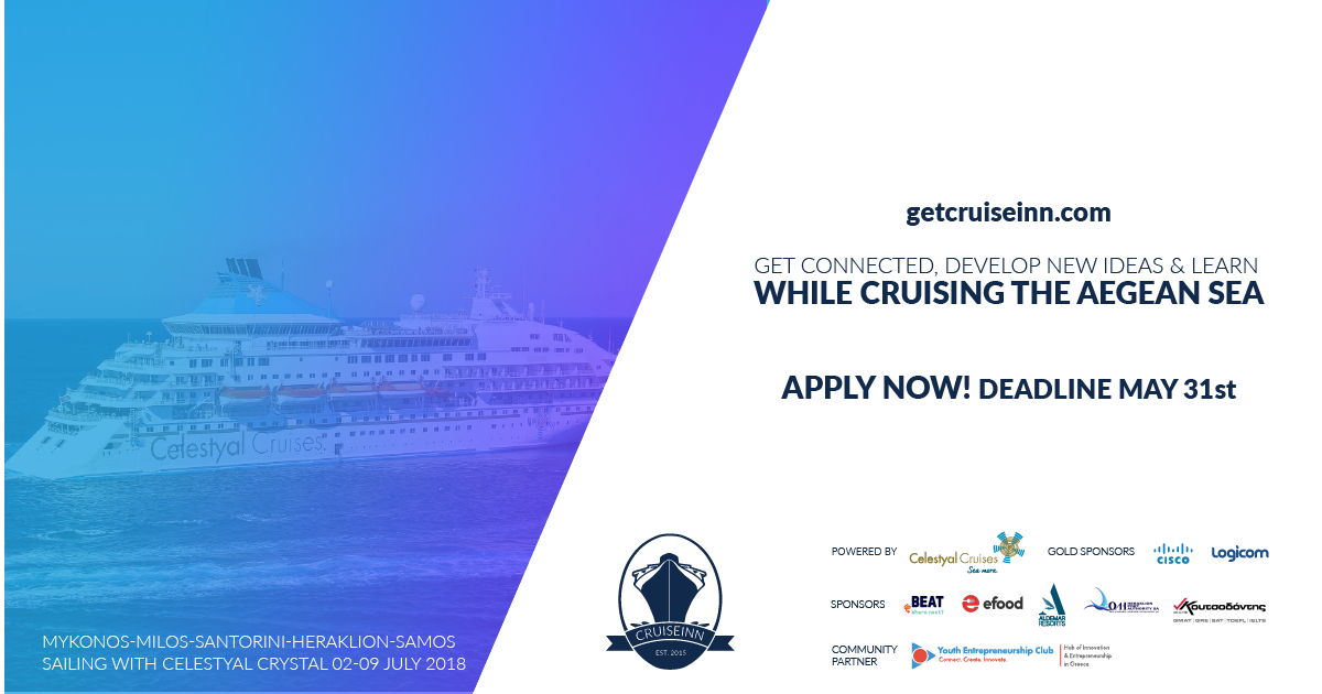Cruiseinn 2018 _ Community Partner 2018 Youth Entrepreneurship Club _ 1200x630