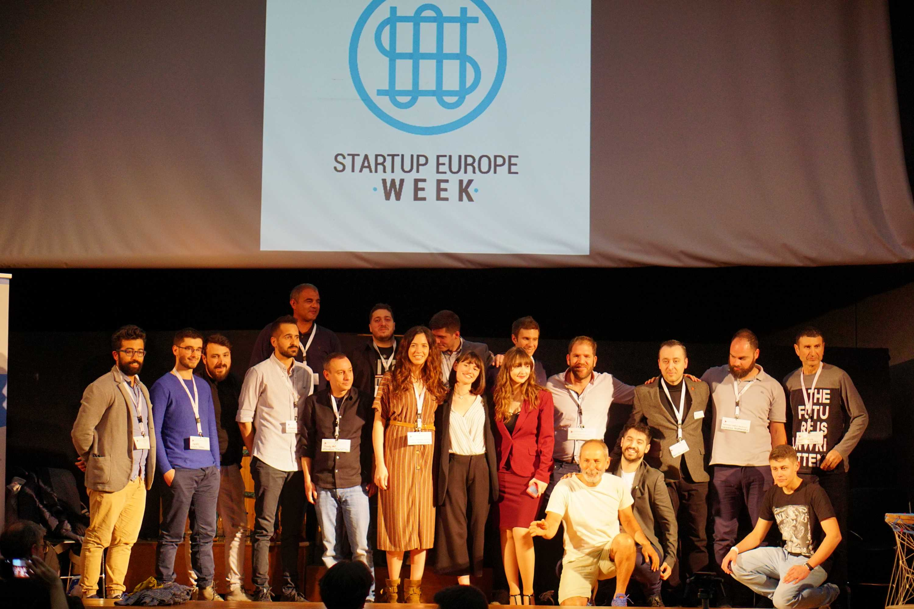 Startups Pitch, Startup Europe Week Crete