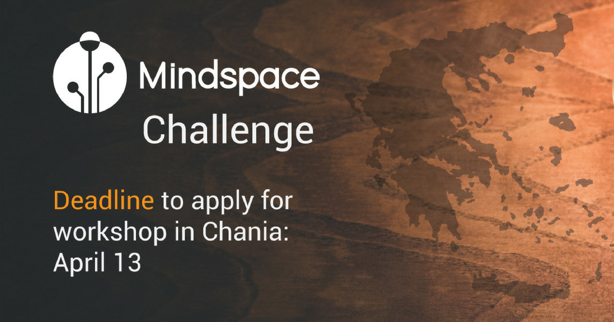 Mindspace Challenge 2018 Chania (Crete) _ Youth Entrepreneurship Club (Official Event Collaborator) Photo (1200x630)