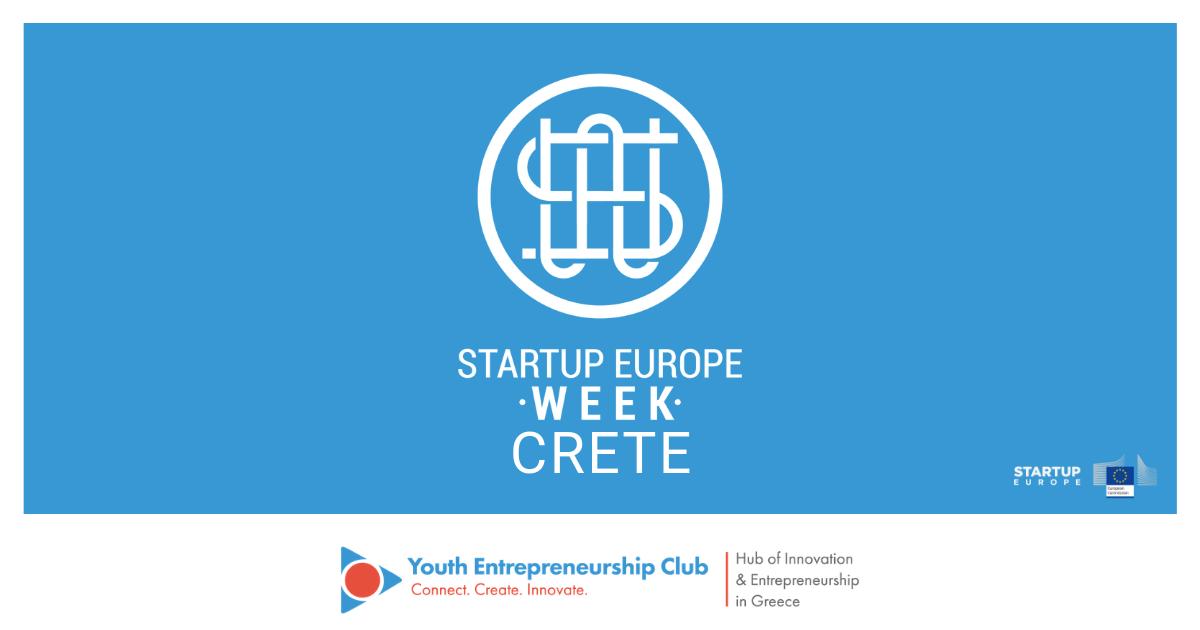 Startup Europe Week Crete 2019 - Youth Entrepreneurship Club - Hub