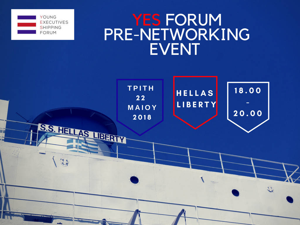 YES Forum 2018 _ YES to Shipping Forum 2018 _ Pre Networking EVENT 2018