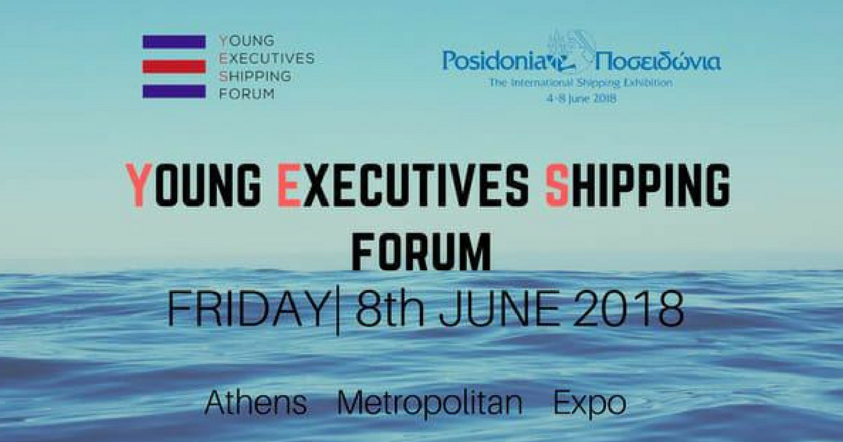 YES to Shipping Forum 2018 _ YES Forum 2018 _ Posidonia 2018 _ Metropolitan Expo - Posidonia Conference Hall