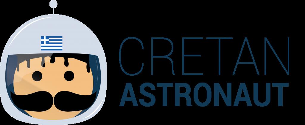 Cretan astronaut logo